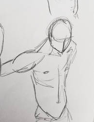 Male drawing
