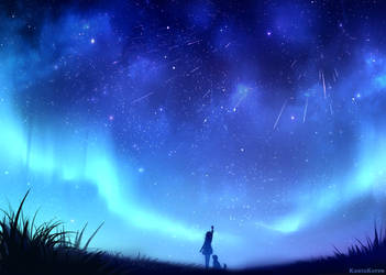 Touch the stars by KantaKerro