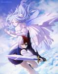 BNHA OC:  Fantasy AU Todoroki Shoto and Osen Rosen