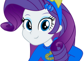 Equestria girls Rarity by IamAquaMarine