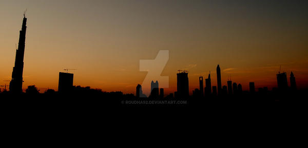 Dubai in my view by Roudha92