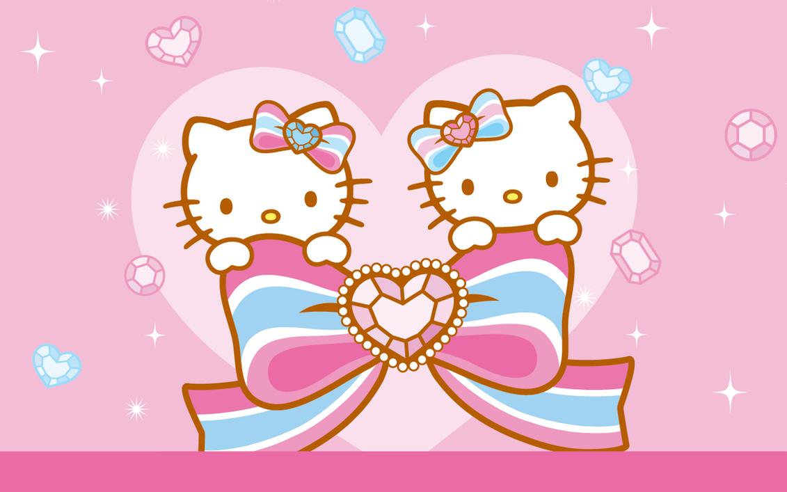 Hello Kitty Diamonds By Hushstarberry