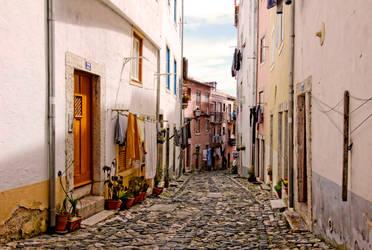 Carte postale de Lisbonne 9 by Douce-Amertume