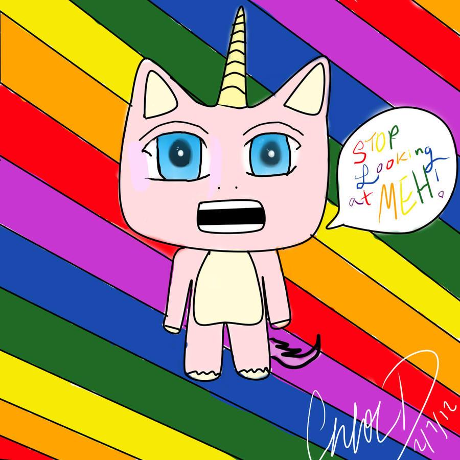 Cute Animals 1 Stop Looking At Me Unicorn By Chloelikespie