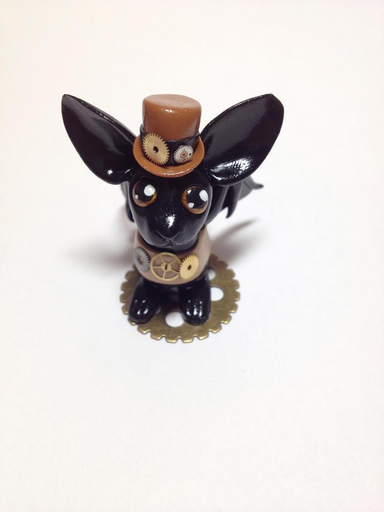 Steampunk Bat by xlightangelwolfx