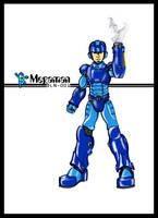Megaman-The Blue Bomber by kanefinger1939