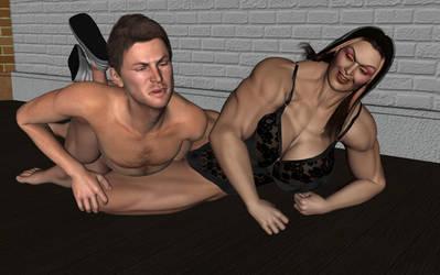 Domestic Wrestling 8 by ironb667