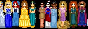 Current Disney Princess Lineup