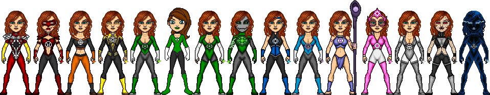 The Little Legion of Lisa Lanterns