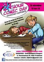 24 Hour Comics Day in Groningen Netherlands by skycladstrega