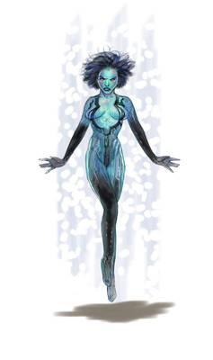 The Daily Cortana Sketch with Copic Markers