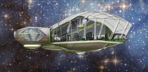 RRS Athena colonizing spaceship