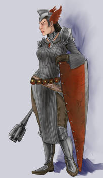Rhone the Cleric