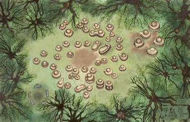 Gaming Map for Forest Fairy Village
