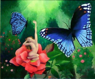 Morning flutter by bonsaimannetjie