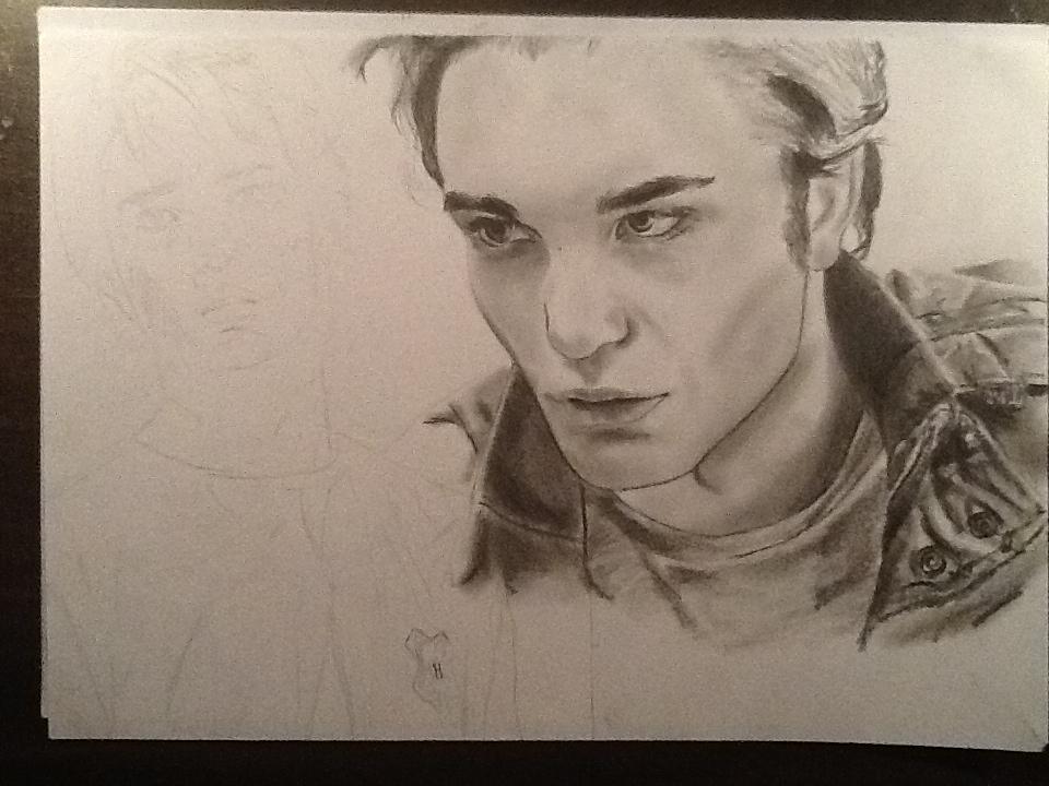 Edward Cullen Drawing Wip By Meliesereidmusic On Deviantart