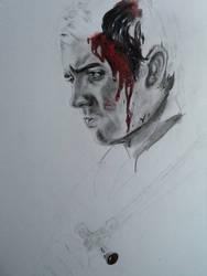 Neville Longbottom drawing WIP by MelieseReidMusic