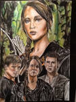 The Hunger Games drawing