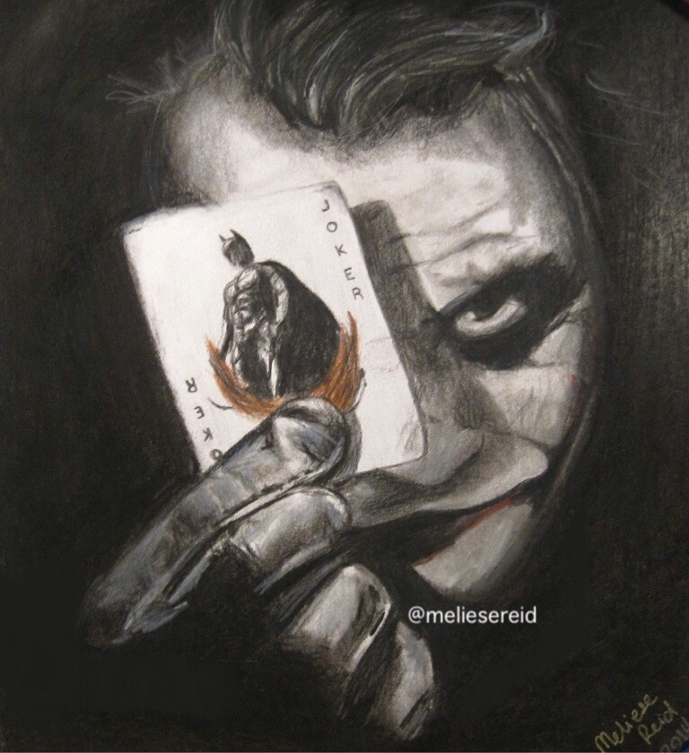 drawn joker wallpapers and - photo #6