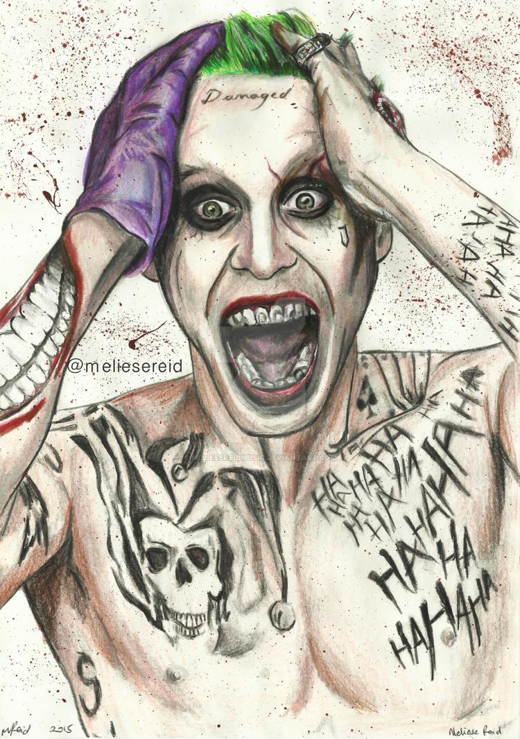Jared Leto - Joker drawing by MelieseReidMusic