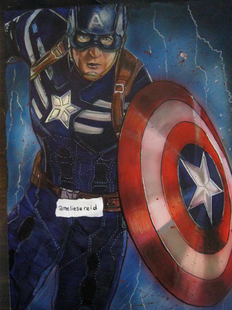 Captain America by MelieseReidMusic
