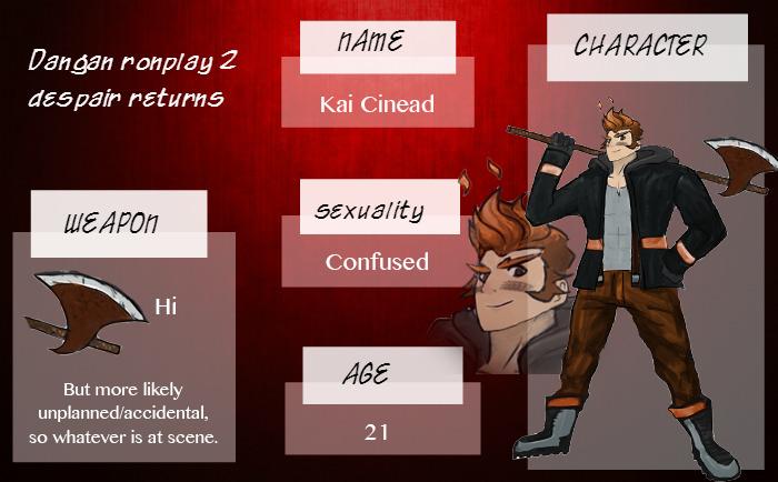 Kai Cinead | Dangan Ronplay by Marcusqwj
