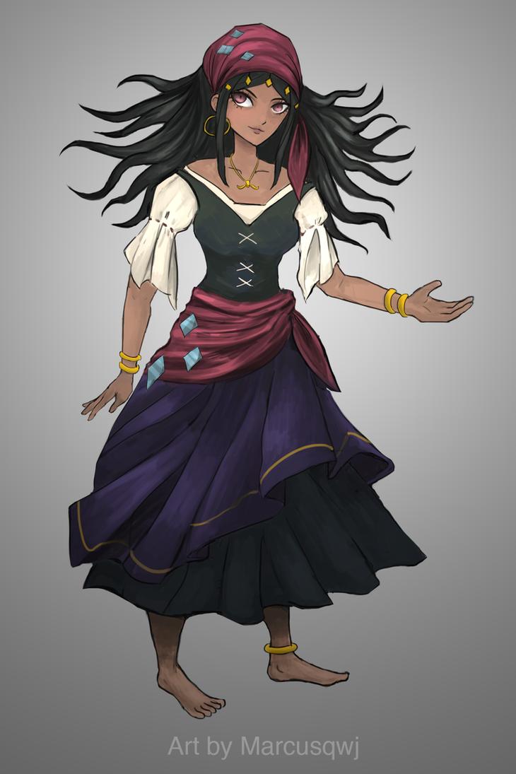 Elderia Rose by Marcusqwj