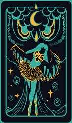 The Moon ~ Tarot Card (Paufyu)
