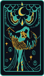 The Moon ~ Tarot Card (Paufyu)