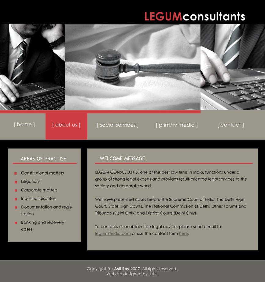 LegumConsultants WebsiteDesign by vedica