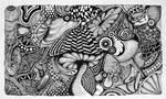 Mushroom-doodles