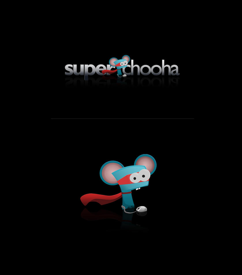 SuperChooha - Logo-design by vedica