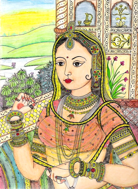 The Indian Queen by vedica