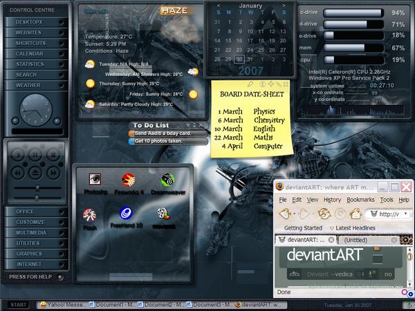 My Desktop by vedica