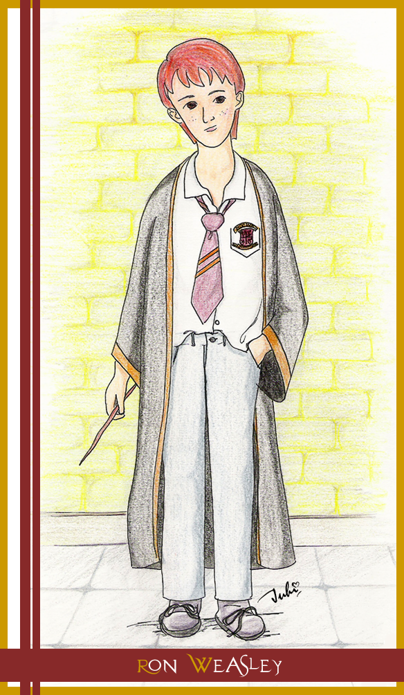 Ron Weasley by vedica
