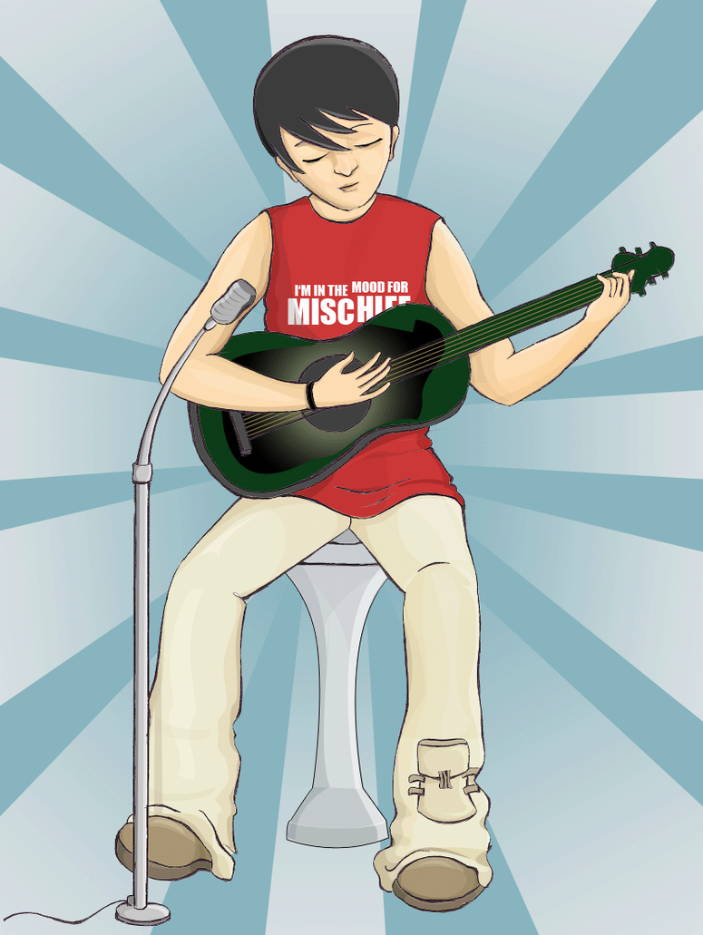Guitarist by vedica