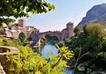 Stari Most - Mostar Koprusu .