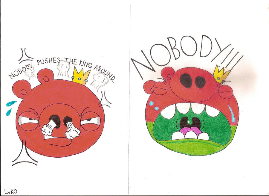 NEVER Mess With King Pig By LvKO-King On DeviantArt