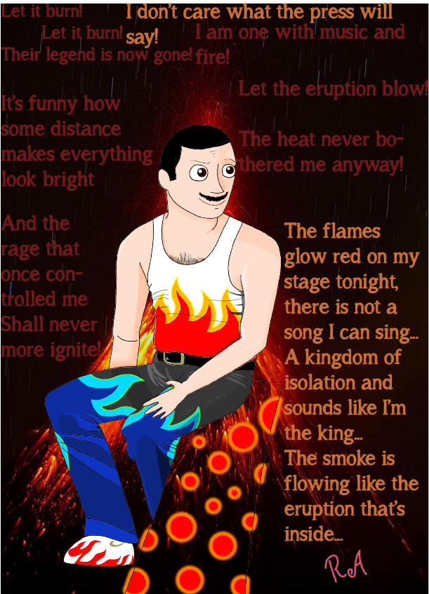 Let It Burn! (Fire Freddie Version of Let It Go) by LvKO-King