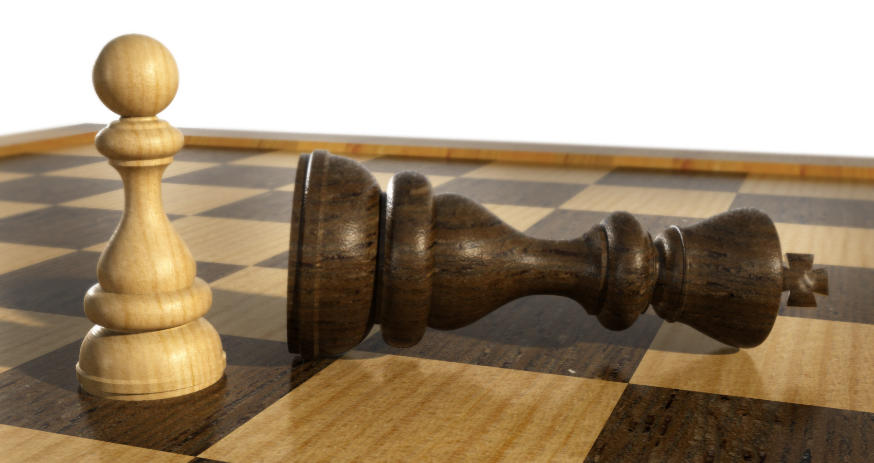 Even a Pawn can kill a King