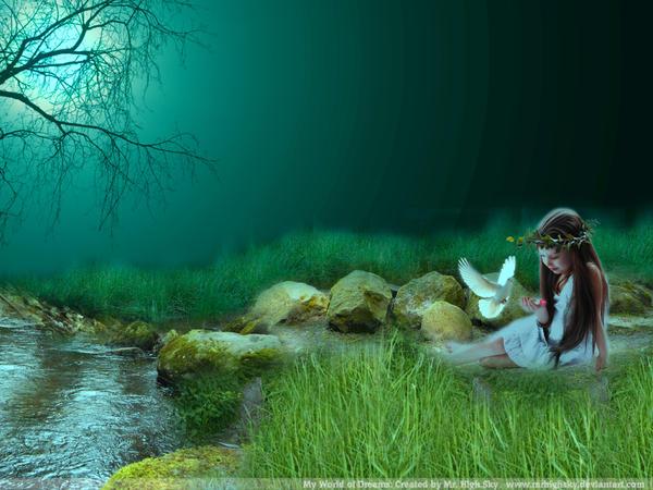 My World Of Dreams Wallpaper By MrHighsky