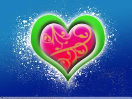 Blue Heart by MrHighsky