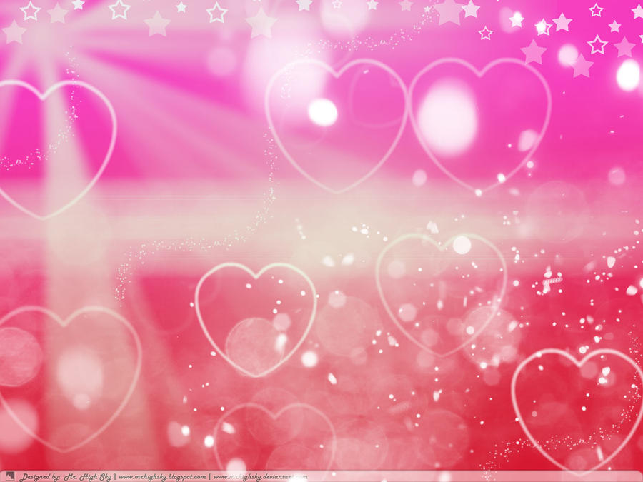 Red Love Vector Wallpaper by MrHighsky