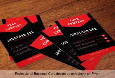 Business card 05 by MrHighsky