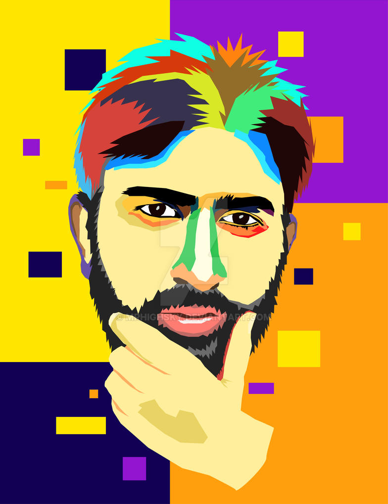 Think about it - WPAP art by MrHighsky