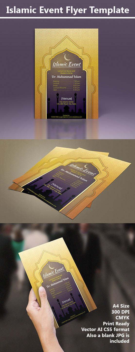 Islamic flyer Preview by MrHighsky