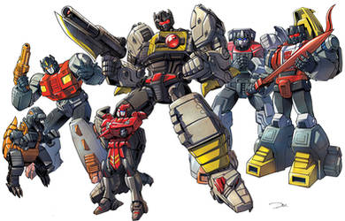 Dinobots by ZeroMayhem