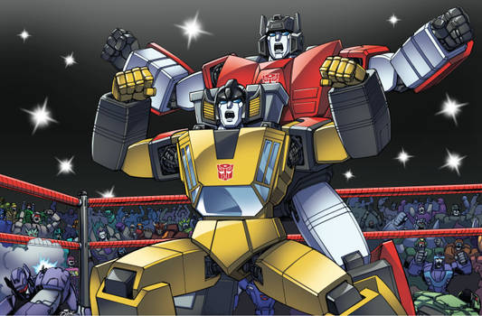 Transformers: Sideswipe and Sunstreaker DX