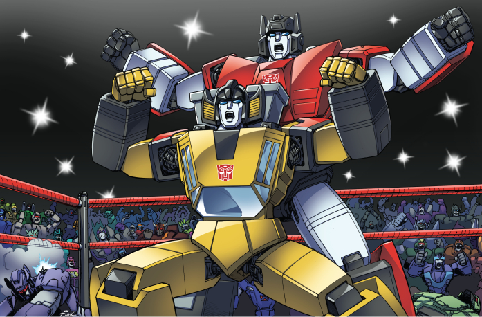 Transformers: Sideswipe and Sunstreaker DX by ZeroMayhem ...