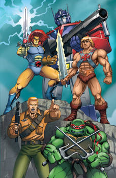 80's Animated Heroes